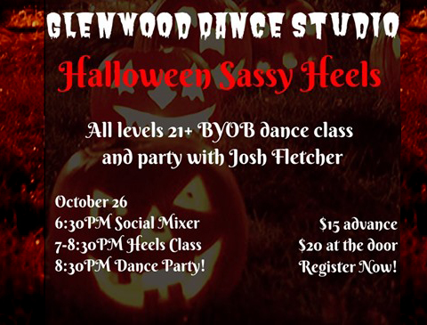 2019 Halloween Sassy Heels is October 26